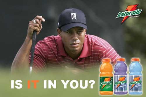 Tiger Woods - Proposed Gatorade Ad