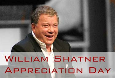 William Shatner Appreciation Day